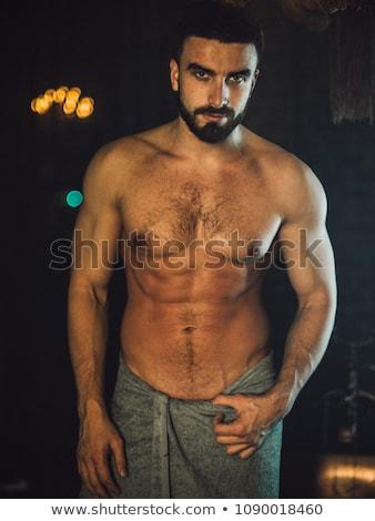 Muscular hot guy Stock photo © curaphotography