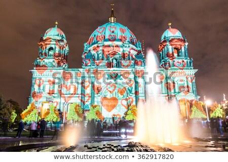 Berlim · detalhado · vetor · linha · do · horizonte · negócio · cidade - foto stock © burakowski