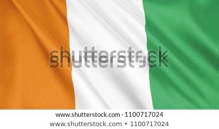 Cote d Ivore flag Stock photo © Harlekino