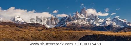 Andes Mountain Range Stock photo © blamb