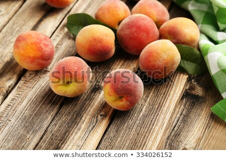 Closeup Image of Ripe Juicy Apricots Stock photo © maxpro