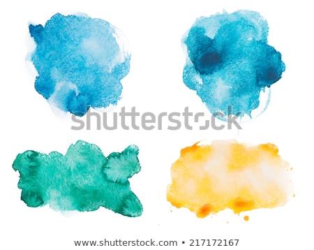 Renk akrilik noktalar kâğıt el dizayn Stok fotoğraf © gladiolus