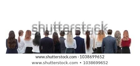 Backside of mature woman Stock photo © Nobilior
