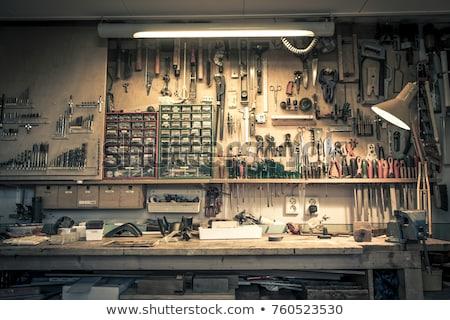 産業 · 金属 · 建設 · 先頭 · 冬 · ワーカー - ストックフォト © karandaev
