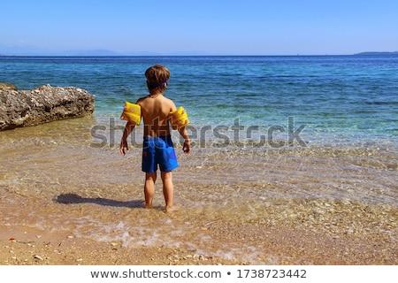 Blauw kust breed water eiland Stockfoto © olandsfokus