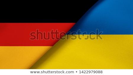 Alemanha Ucrânia bandeiras vetor imagem quebra-cabeça Foto stock © Istanbul2009