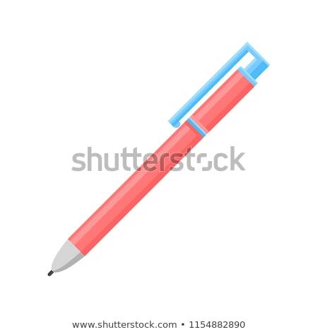 Ballpoint and pen, bright modern theme Stock photo © JanPietruszka