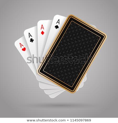 four aces Stock photo © netkov1