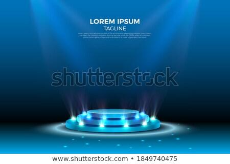 подиум студию прибыль на акцию 10 свет Сток-фото © beholdereye