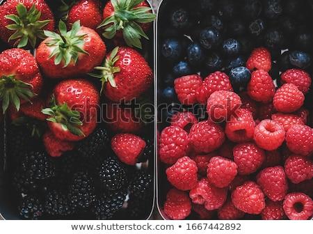 close up on assorted fruit Stock photo © M-studio