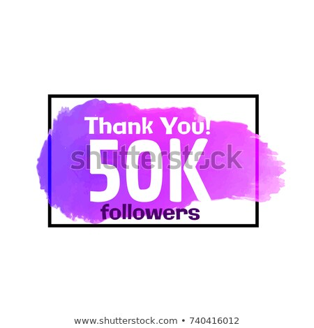 Social Media Erfolg Plakat Design glücklich Hintergrund Stock foto © SArts