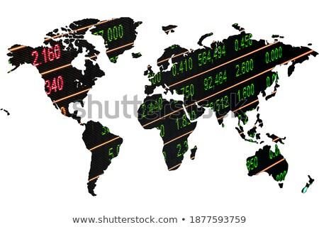 Card Index Stock Trading. 3D. Stock photo © tashatuvango