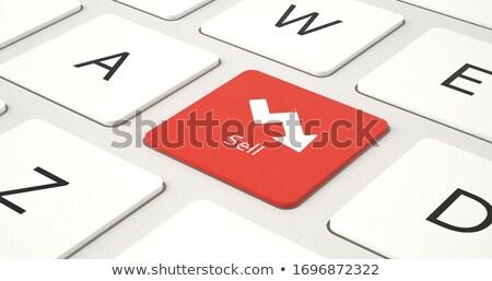 Stock kereskedés modern laptop numerikus billentyűzet 3D Stock fotó © tashatuvango