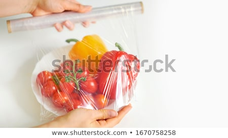 Roll Of Cling Film/plastic Wrap Stock photo © papa1266