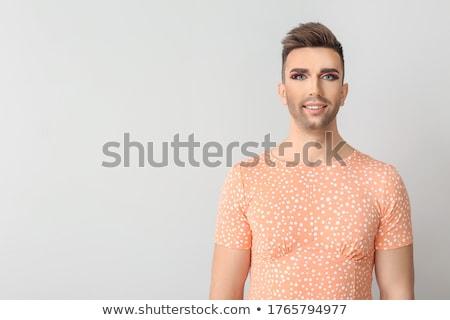 肖像 トランスジェンダー 女性 電話 男 ストックフォト © wavebreak_media