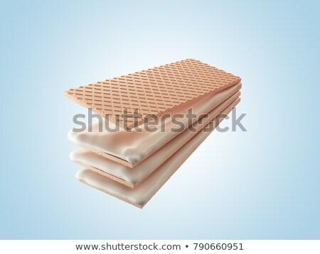 wafers with cream Stock photo © FOKA