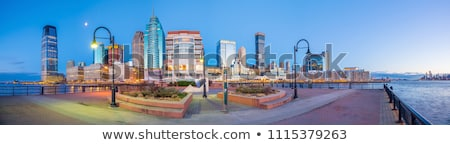 Hudson River Waterfront Walkway in Jersey City, United States Stock photo © boggy