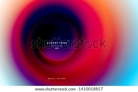 Gradiente fluido vetor futuro cor vibrante Foto stock © pikepicture