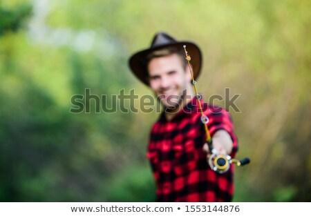 Элементы · Запад · кактус · револьвер · Hat - Сток-фото © colematt