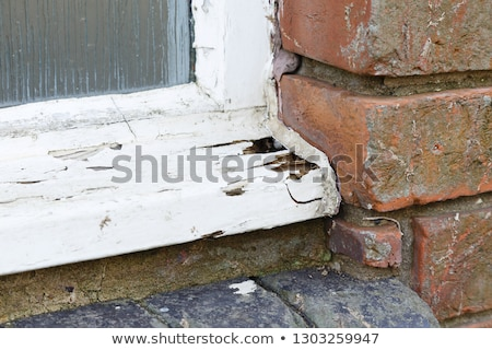 Old wooden house in bad condition Stock photo © colematt