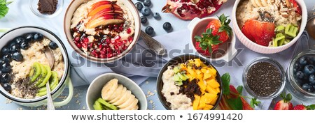 Recipe Food Preparation and Meal Set Banners Set Stock photo © robuart