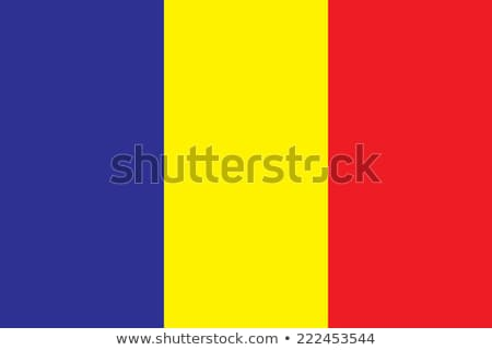 Chad flag, vector illustration Stock photo © butenkow