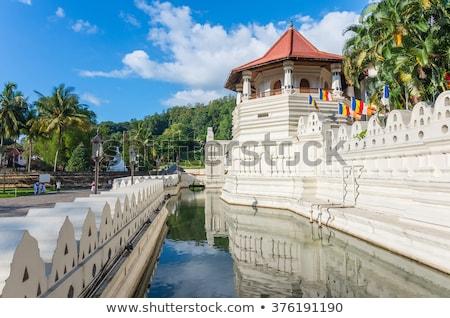 Temple of the Tooth. Sri Lanka Stock photo © dmitry_rukhlenko