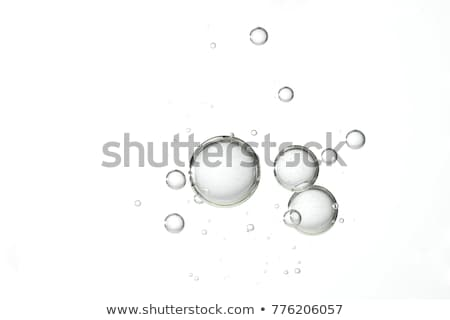 blue background with floating water bubbles design Stock photo © SArts