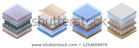 Orthopedische matras element isometrische icon Stockfoto © pikepicture
