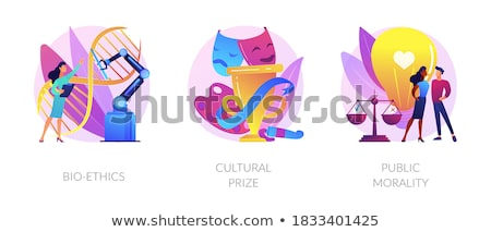 Cultural prize abstract concept vector illustration. Stock photo © RAStudio