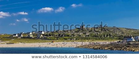 島 · 表示 · 風光明媚な · アイルランド · 海岸線 · ビーチ - ストックフォト © igabriela