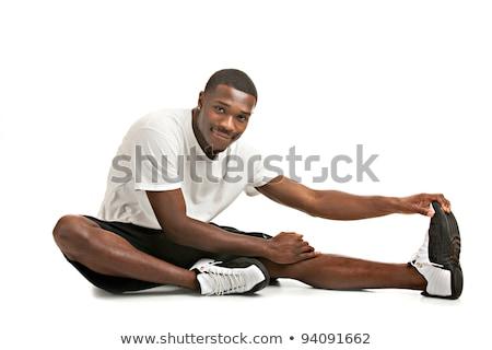 Saludable naturales mirando jóvenes masculina Foto stock © flashon