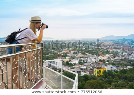 Tourist taking picture. Stock photo © photography33