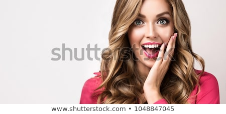 surprised blond woman stock photo © photography33