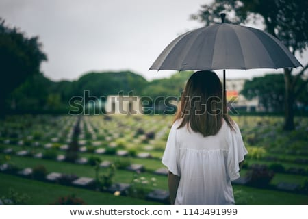 Attractive woman grieving Stock photo © photography33