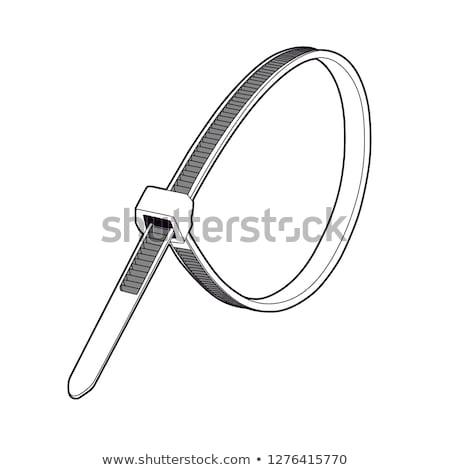 Stock photo: Zip ties
