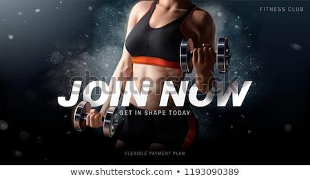 girl's body in health club Stock photo © Paha_L