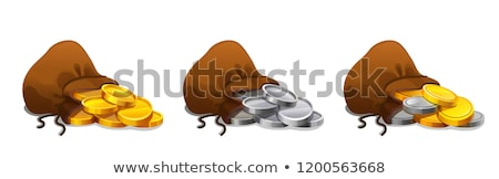 coins spilling from purse stock photo © photography33
