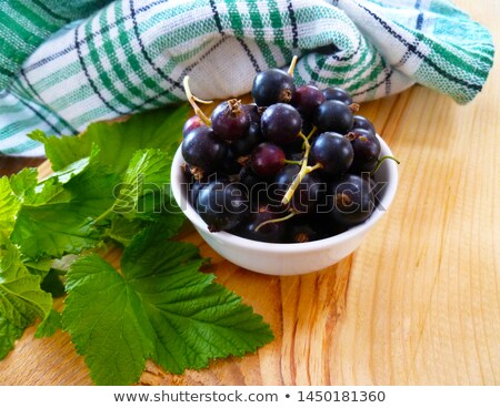 Redcurrants And Blackcurrants Stock photo © veralub