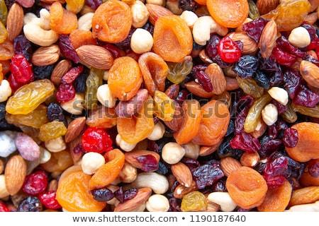aszalt · gyümölcsök · gyűjtemény · ananász · áfonya · gyümölcs - stock fotó © pakhnyushchyy
