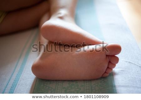girl's foot  Stock photo © carloscastilla