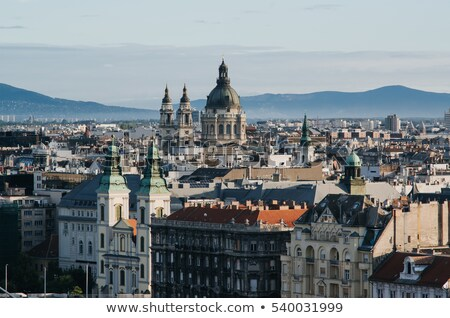 Overview of Budapest  Stock photo © AndreyKr