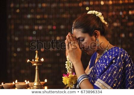 Oración luces edificio edificio de cristal templo sagrado Foto stock © Hofmeester