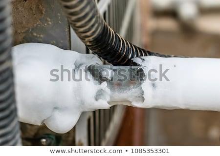 Frozen coil Stock photo © smuay