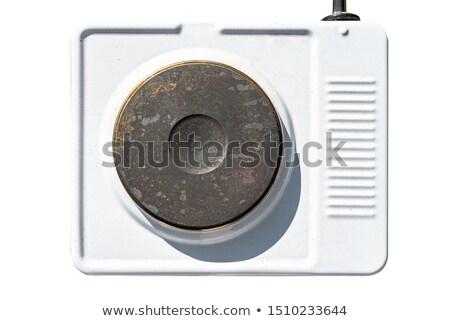 home · vintage · verwarming · geïsoleerd · witte · brand - stockfoto © dar1930