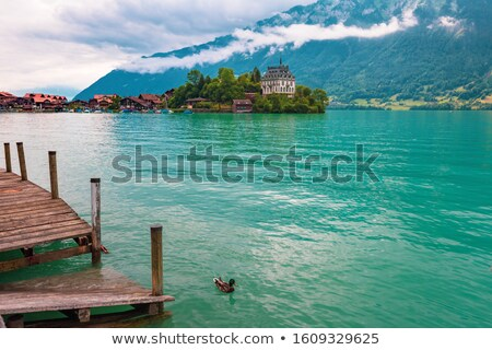 regio · alpen · Zwitserland · landschap · wereld · sneeuw - stockfoto © zittto