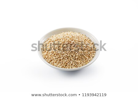uncooked quinoa white background Stock photo © marimorena