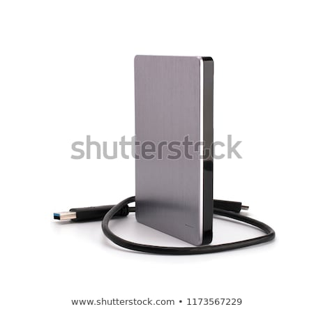 Harde schijf intern computer geïsoleerd witte gegevens Stockfoto © kitch