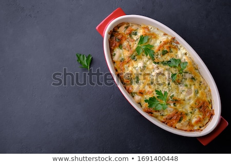 casserole with meat and vegetable Stock photo © M-studio
