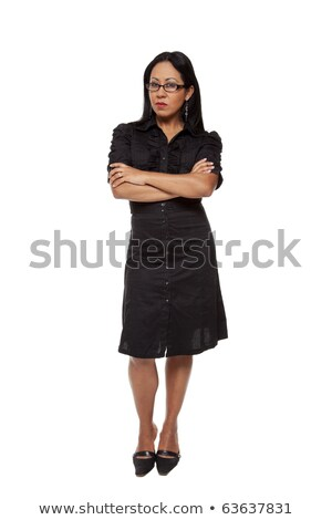 Businesswoman - Stern Latina Stock photo © dgilder